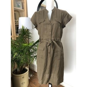 Banana Republic linen dress